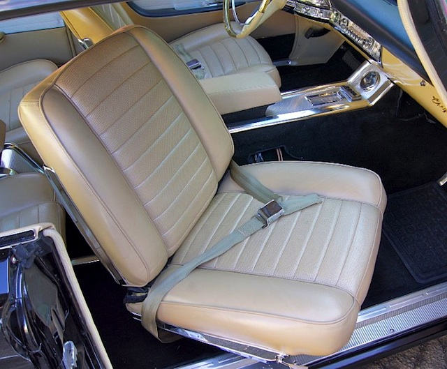 Auto Upholstery - The Hog Ring - 1960 Chrysler 300F Swivel Seat