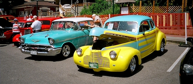 Auto Upholstery - The Hog Ring - Local Car Show