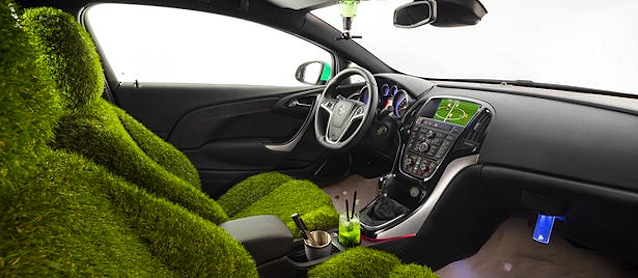 Auto Upholstery - The Hog Ring - Opel Astra Copacabana