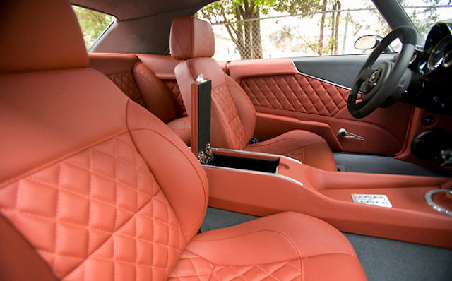 Auto Upholstery - The Hog Ring - 1969 Chevrolet Camaro - JNG Creations