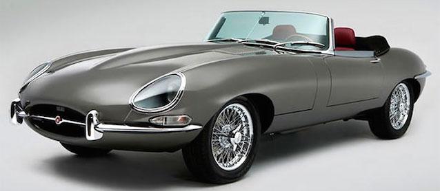 Auto Upholstery - The Hog Ring - Jaguar Classic E-type
