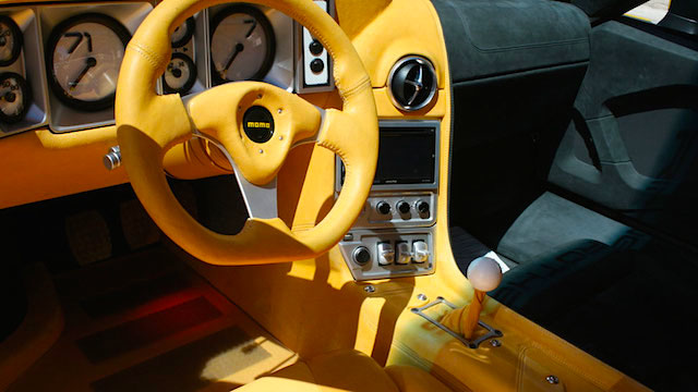 Auto Upholstery - The Hog Ring - The Ring Brothers - 1971 Pantera Nike