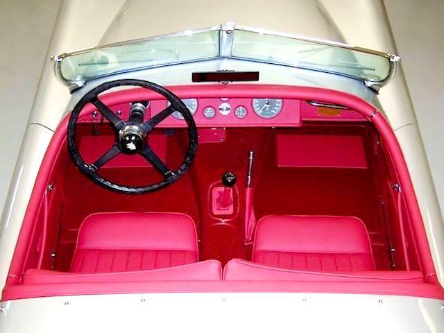 The Hog Ring - Auto Upholstery News - Dan Kirkpatrick Interiors - 1951 Jaguar XK-120 Roadster