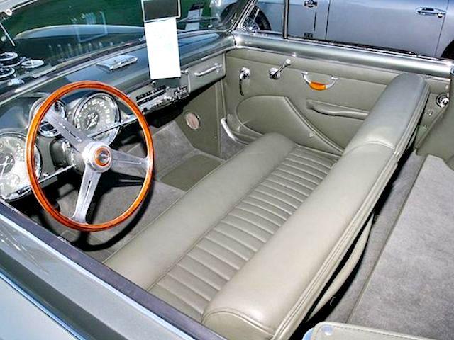 The Hog Ring - Auto Upholstery News - Dan Kirkpatrick Interiors - 1953 Cunningham C3 Vignale Convertible interior