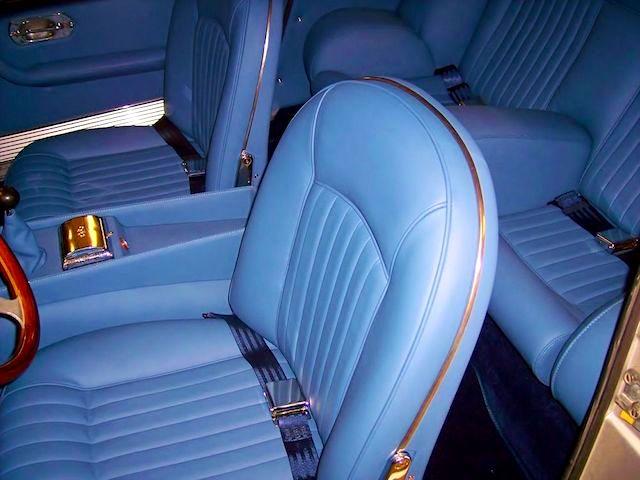 The Hog Ring - Auto Upholstery News - Dan Kirkpatrick Interiors - 1967 Ferrari 330 GT 2+2