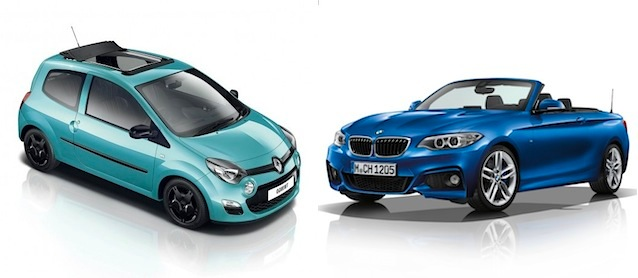 Auto Upholstery - The Hog Ring - Haartz - Renault Twingo and BMW 2-Series
