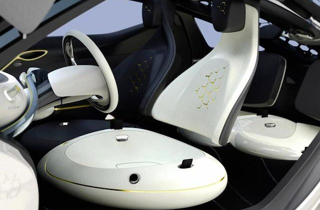 Auto Upholstery - The Hog Ring - Renault Zoe Concept Interior