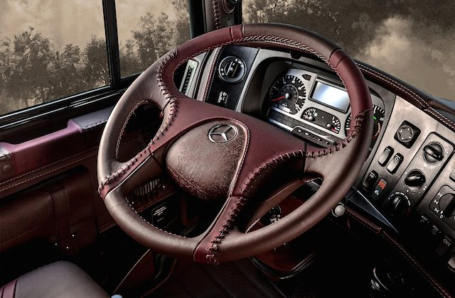 Auto Upholstery - The Hog Ring - Carlex Design Custom Mercedes-Benz Steering Wheel