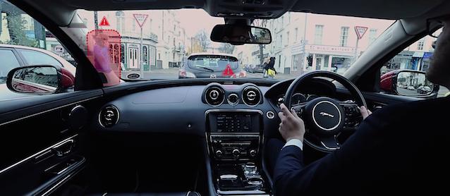 Auto Upholstery - The Hog Ring - Jaguar 360 Virtual Urban Windscreen