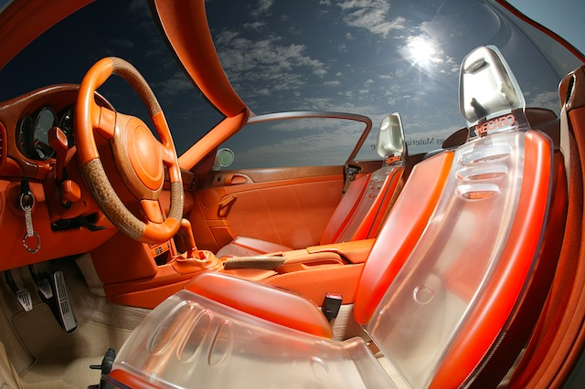 Auto Upholstery - The Hog Ring - Rinspeed Zazen - Transparent Recaro