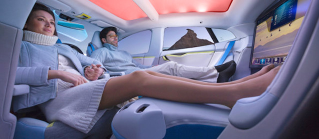 Auto Upholstery - The Hog Ring - Autonomous Car Interior