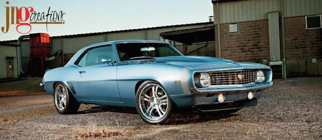 Auto Upholstery - The Hog Ring - JNG Creations - 1969 Chevrolet Camaro