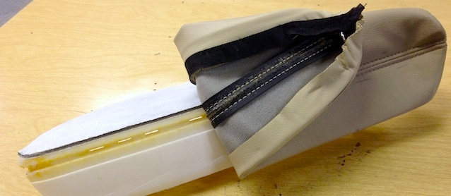 Auto Upholstery - The Hog Ring - Rubber French Seam