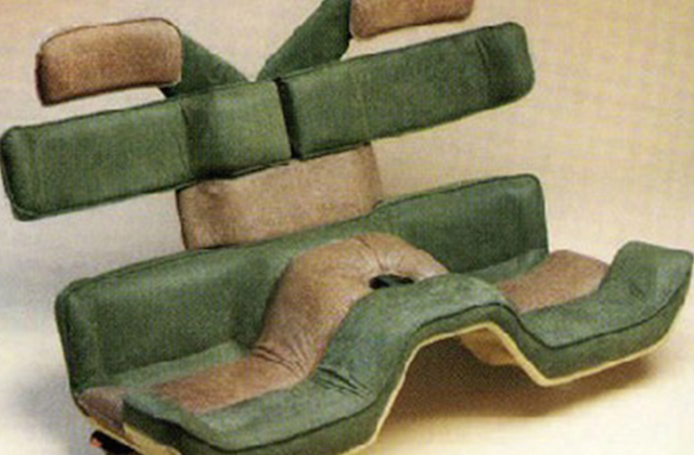 Auto Upholstery - The Hog Ring - 1984 Bertone Ramarro Bench Seat