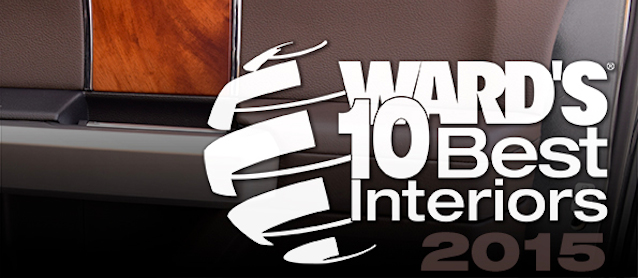 Auto Upholstery - The Hog Ring - WardsAuto 10 Best Interiors 2015