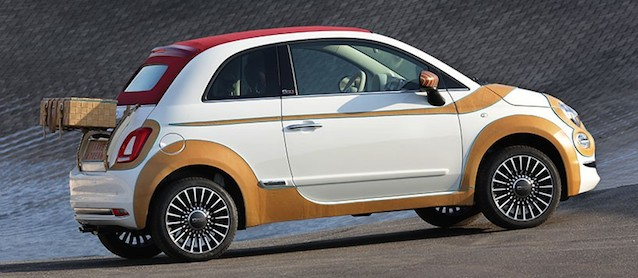Auto Upholstery - The Hog Ring - Bespoke Fiat 500