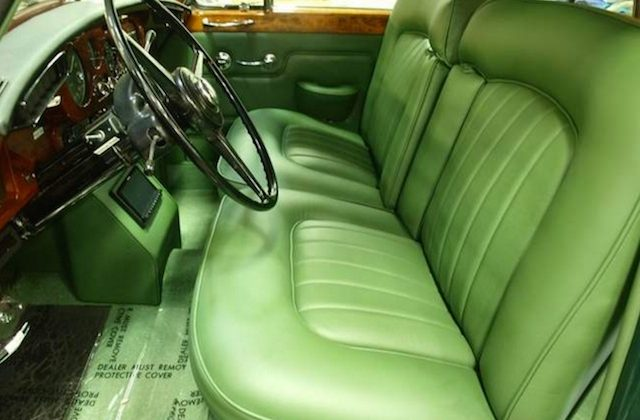 Auto Upholstery - The Hog Ring - Gillin Auto Interiors - 1963 Rolls-Royce Silver Cloud