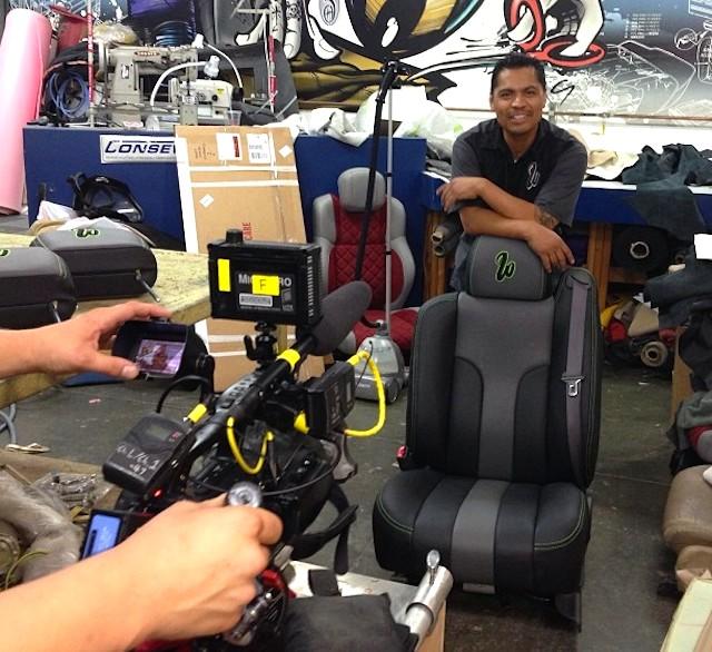 Auto Upholstery - The Hog Ring - Ish Jimenez - Pimp My Ride