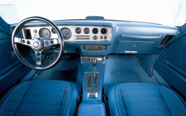 Auto Upholstery - The Hog Ring - SideEffect Ltd - 1971 Pontiac Firebird