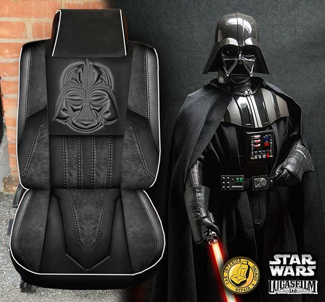 Star Wars Seat Covers Are So Wizard, Star Wars Car Seat