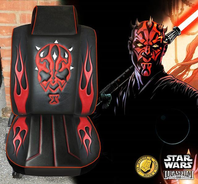 Auto Upholstery - The Hog Ring - Star Wars Car Seat - CarInterior.by