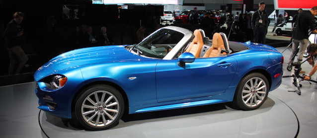 Auto Upholstery - The Hog Ring - 2017 Fiat 124 Spider