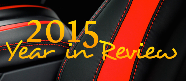 Auto Upholstery - The Hog Ring - 2015 Year in Review