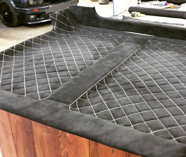 Auto Upholstery - The Hog Ring - Custom Headliner
