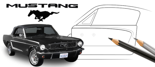 Auto Upholstery - The Hog Ring - Ford Mustang Design Studio