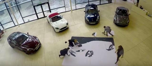 Auto Upholstery - The Hog Ring - Aston Martin Vanquish