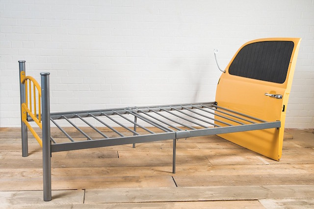 Auto Upholstery - The Hog Ring - McMurdo 1974 Volkswagen Beetle Furniture