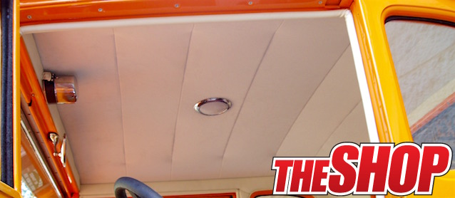 Auto Upholstery - The Hog Ring - Suspended Headliner