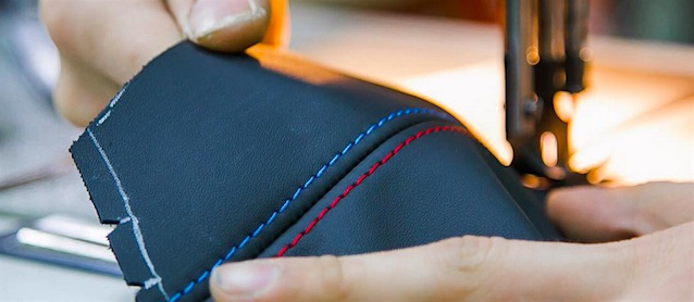 Auto Upholstery - The Hog Ring - BMW Stripe Stitch