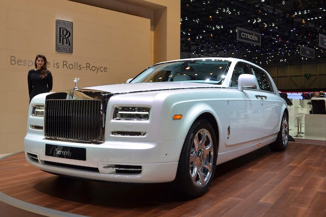 Auto Upholstery - The Hog Ring - Rolls-Royce Serenity