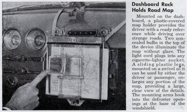 Auto Upholstery - The Hog Ring - Dashboard Map Rack