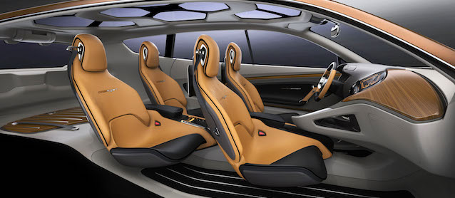 Auto Upholstery - The Hog Ring - Kia Cross Concept