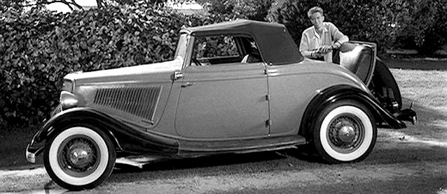 Auto Upholstery - The Hog Ring - 1934 Ford Roadster V8