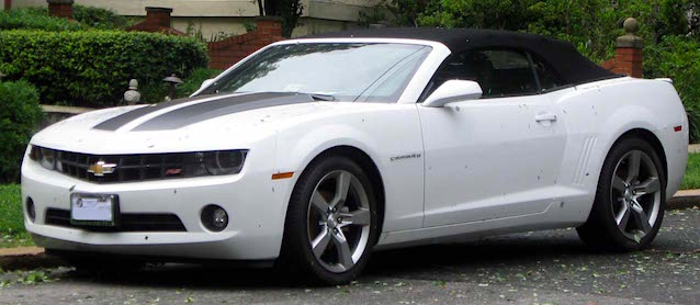 Auto Upholstery - The Hog Ring - 2011 Chevrolet Camaro Convertible