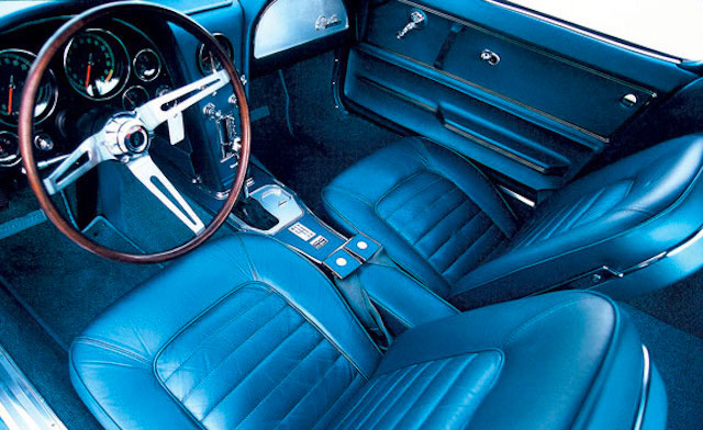 Auto Upholstery - The Hog Ring - Blue Car Interior