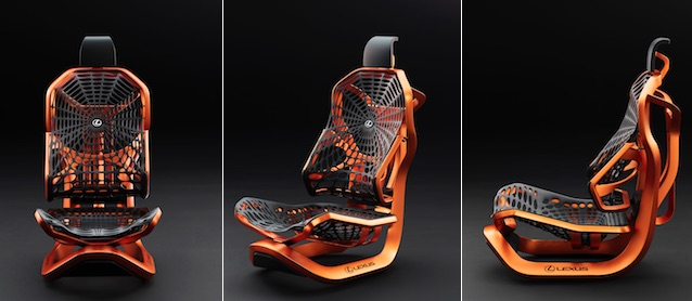 Auto Upholstery - The Hog Ring - Lexus Kinetic Seat Concept