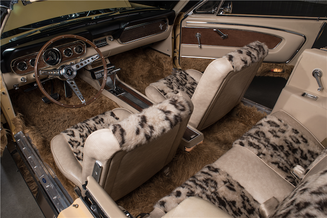 Auto Upholstery - The Hog Ring - Sonny and Cher Mustang
