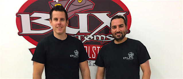 Auto Upholstery - The Hog Ring - Bux Customs - Chris McClintock and Corey Lyba