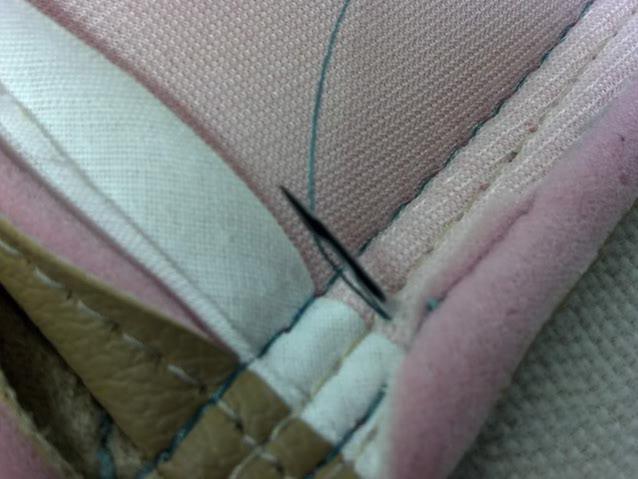 The Hog Ring - Fix a skipped stitch