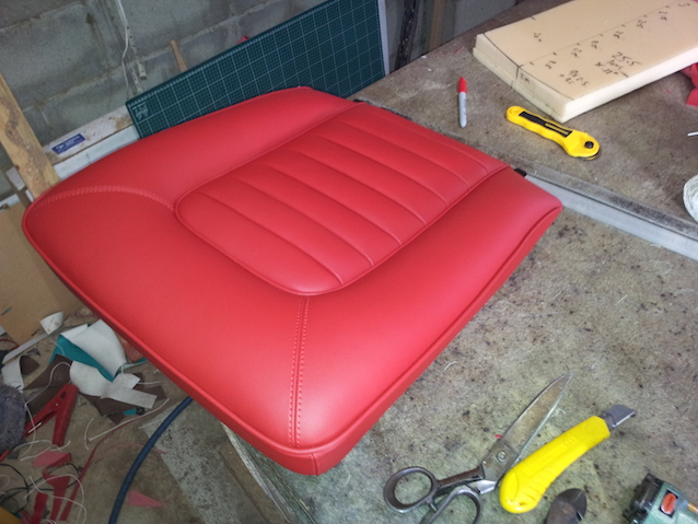 The Hog Ring - How to make a seat from scratch
