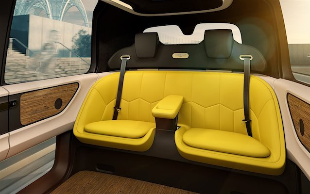 The Hog Ring - The Volkswagen Sedric is a lounge on wheels