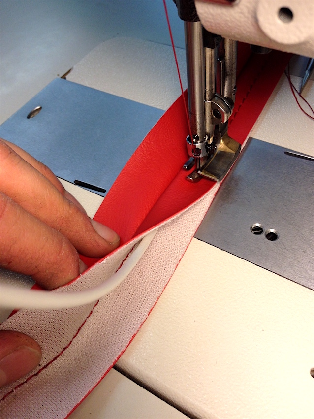The Hog Ring - How to Sew a Double-Piped French Seam
