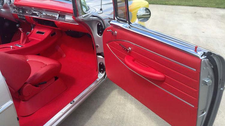 The Hog Ring - Show Car Interiors Rocks a 57 Chevy