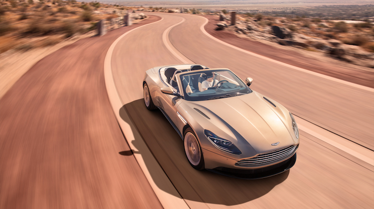 The Hog Ring - The Aston Martin DB11 Volante is Stunning