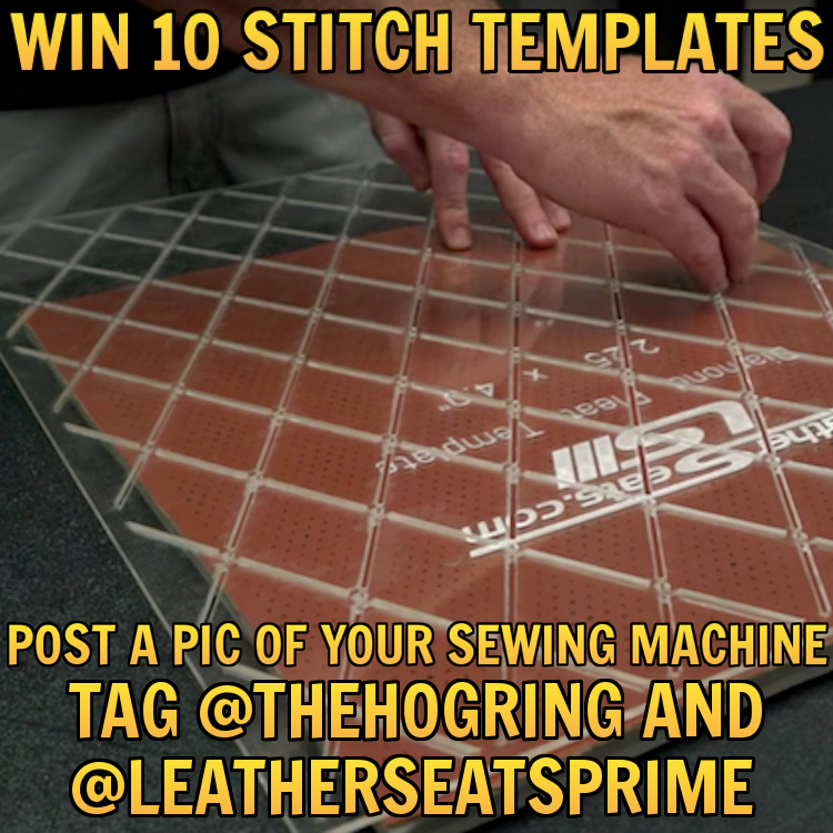 The Hog Ring - Draw Pleats Faster With Stitch Templates