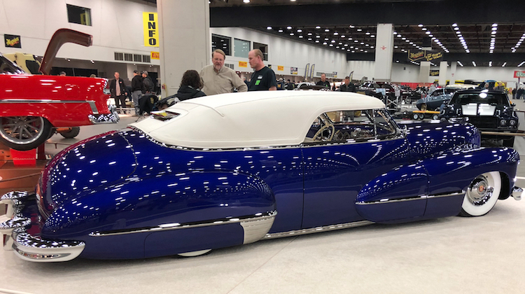 The Hog Ring - Crystal Cadillac Shines in its Carson Top
